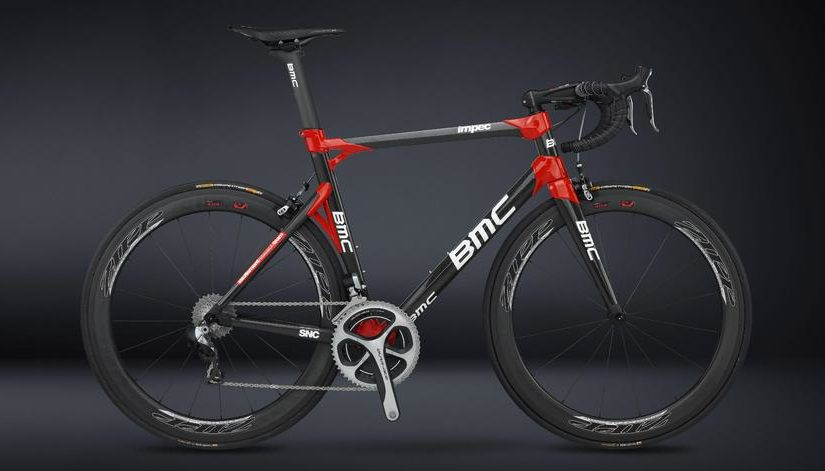 BMC impec Dura Ace Di2, side view