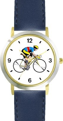 Cycling theme watch