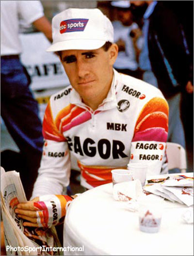 Paul Kimmage, cyclist