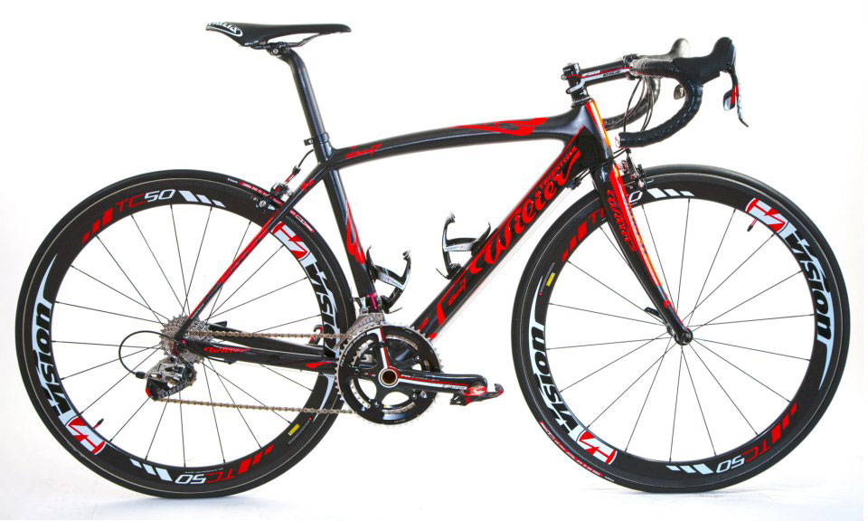 Wilier Triestina Zero7 Orange, Team Colombia