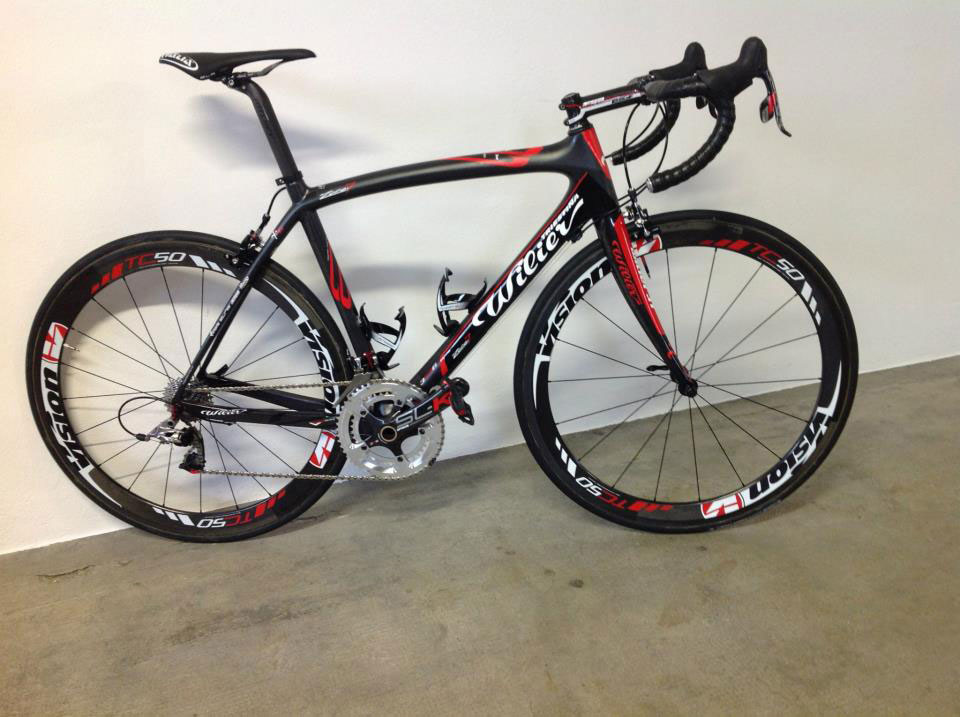Wilier Triestina Zero7 Red/Black, Team Colombia