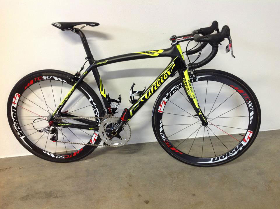 Wilier Triestina Zero7 Yellow Fluo, Team Colombia