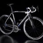 Campagnolo Super Record EPS expo bike (front view)