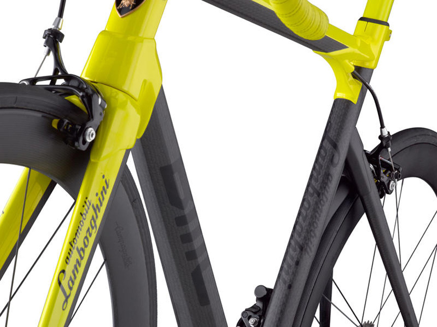 BMC impec Lamborghini 50th anniversary edition frame