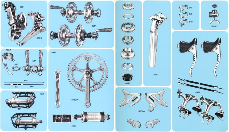First Campagnolo Super Record groupset, 1973