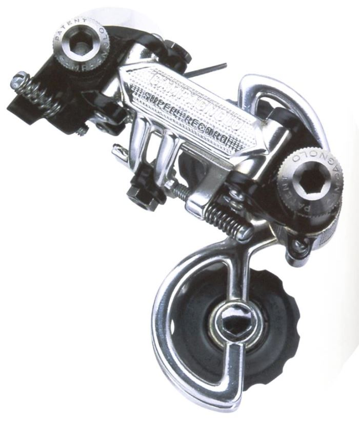 First Campagnolo Super Record rear derailleur, 1973
