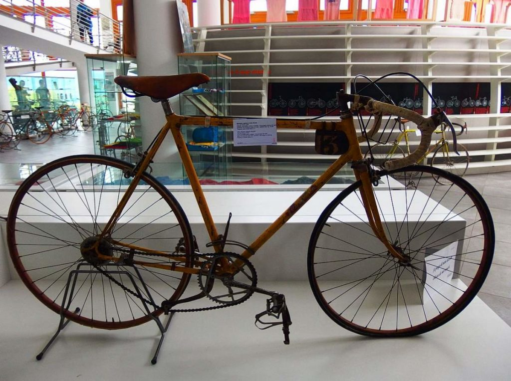 Gino Bartali's 1938 Tour de France winner bike