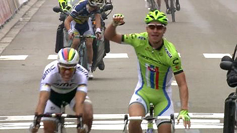 Peter Sagan wins Brabantse Pijl 2013