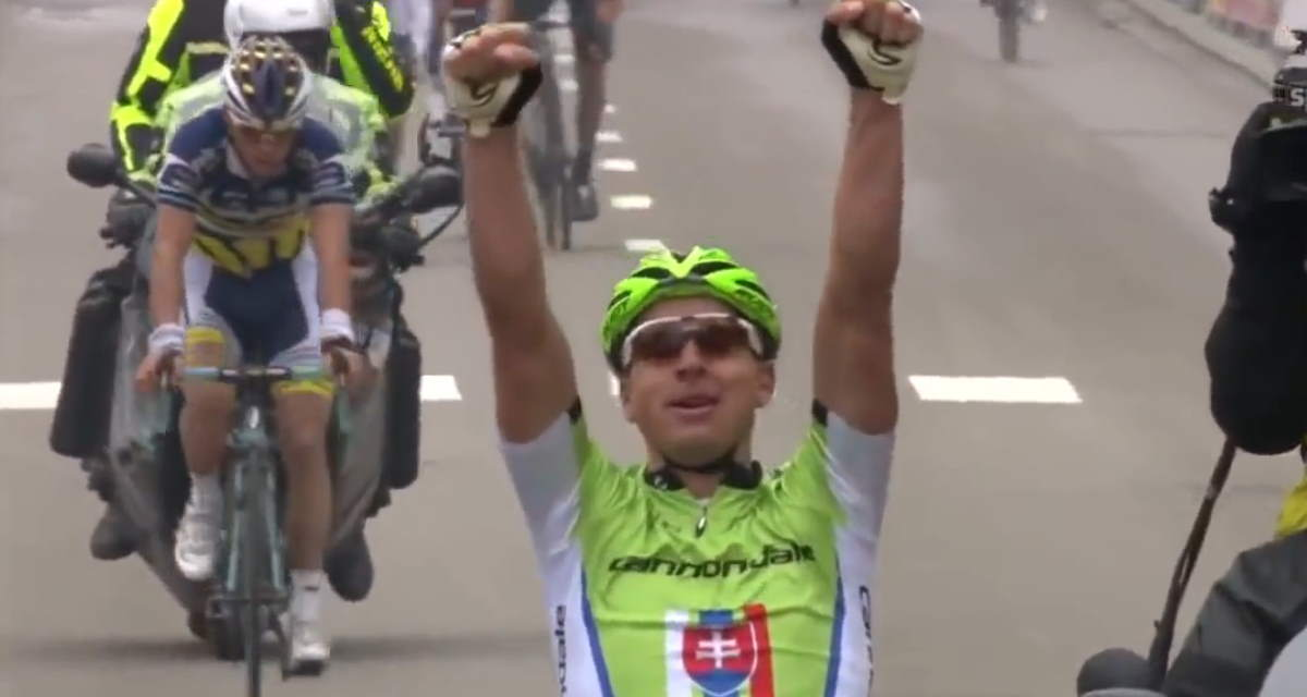 Peter Sagan wins the Brabantse Pijl 2013