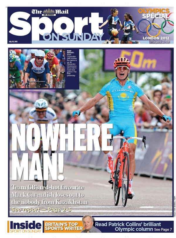 Vinokourov, nowhere man