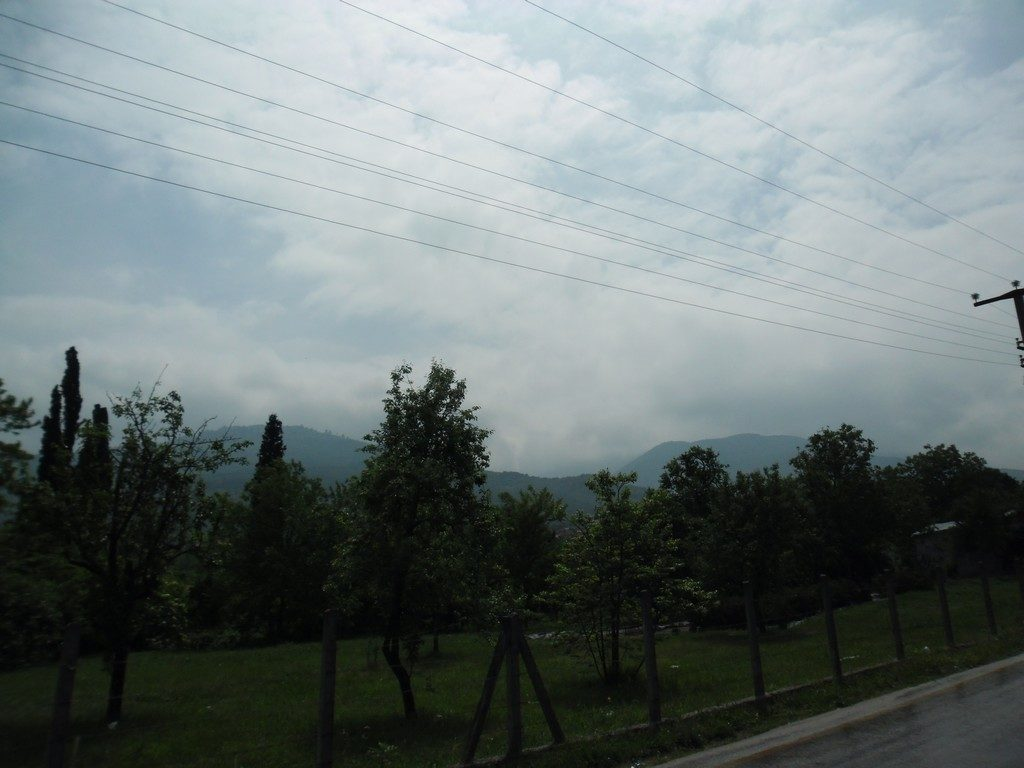 Kartepe (Keltepe), under the clouds