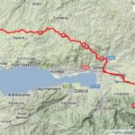 Kartepe route map (2013-05-11)