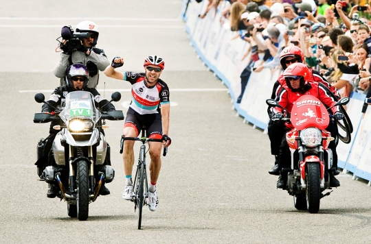 Jens Voigt wins Amgen Tour of California 2013 Stage 5