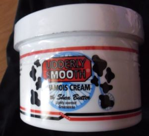 How to avoid saddle sores: Udderly Smooth chamois cream