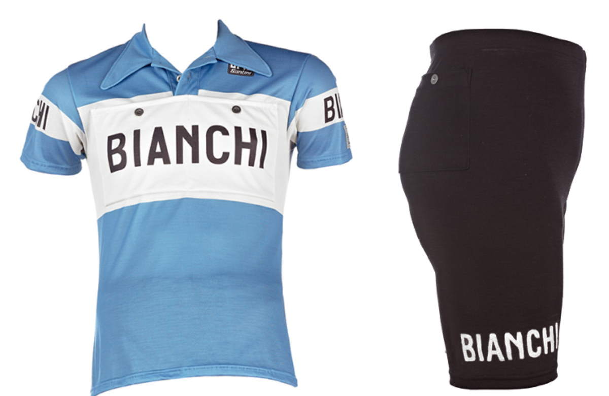 Bianchi introduces retro racing kits