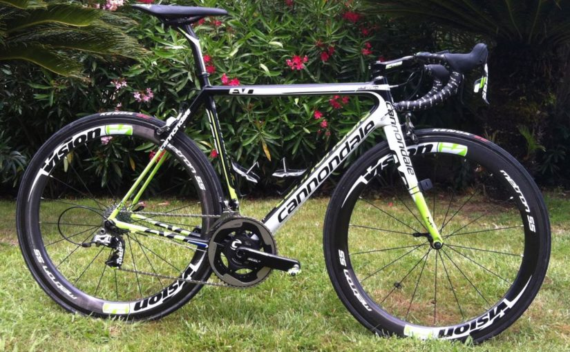 Cannondale SuperSix Evo 2014, Tour de France 100th special edition