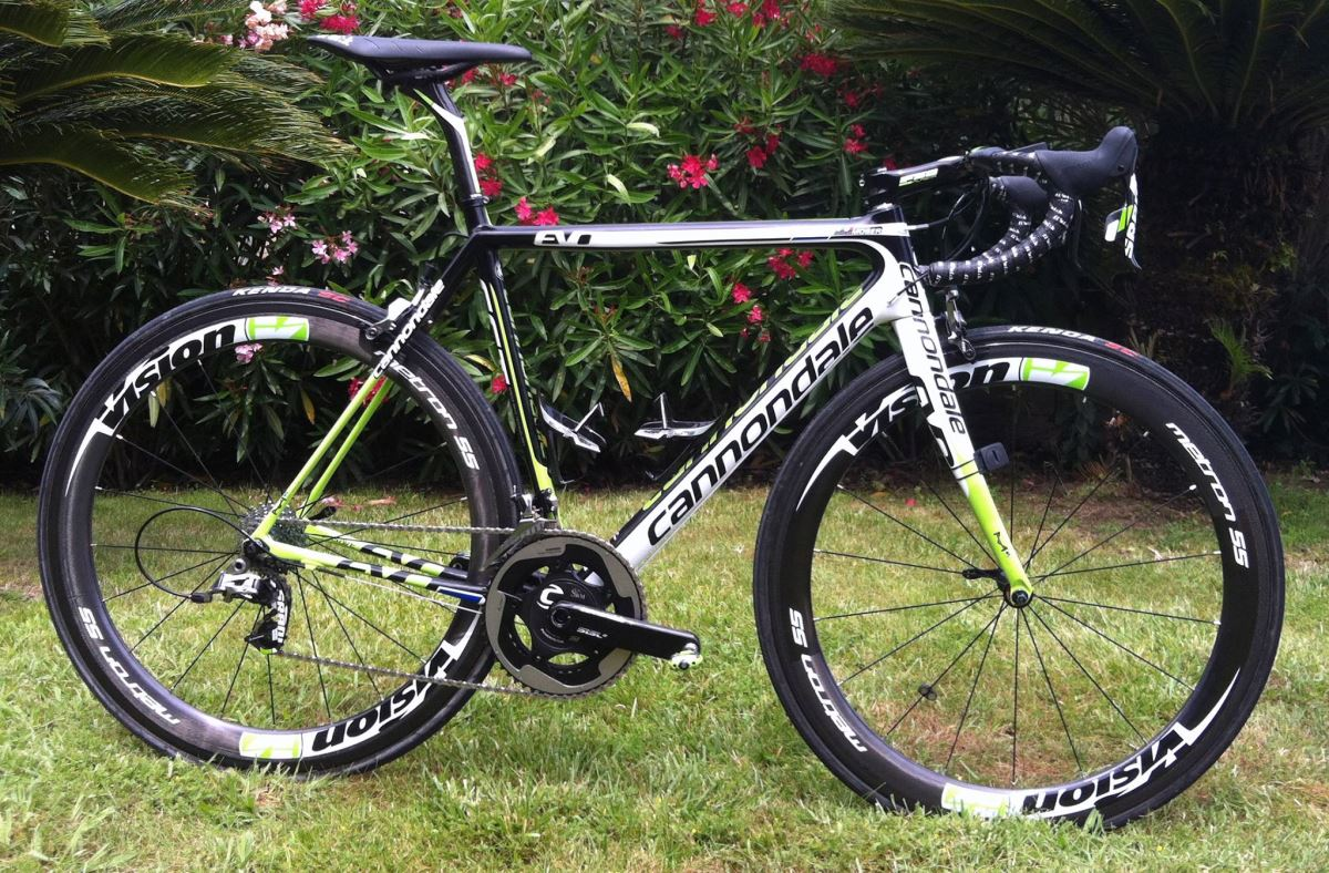 Peter Sagan Cannondale SuperSix Evo 2014 100th Tour de France Special Edition