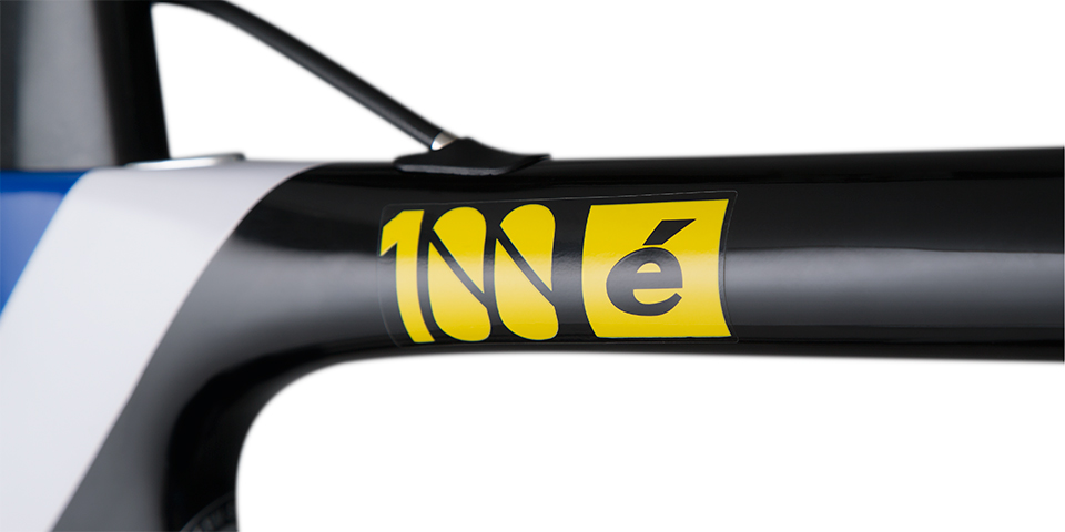 Cervélo S5 2013 Tour de France 100th special edition logo