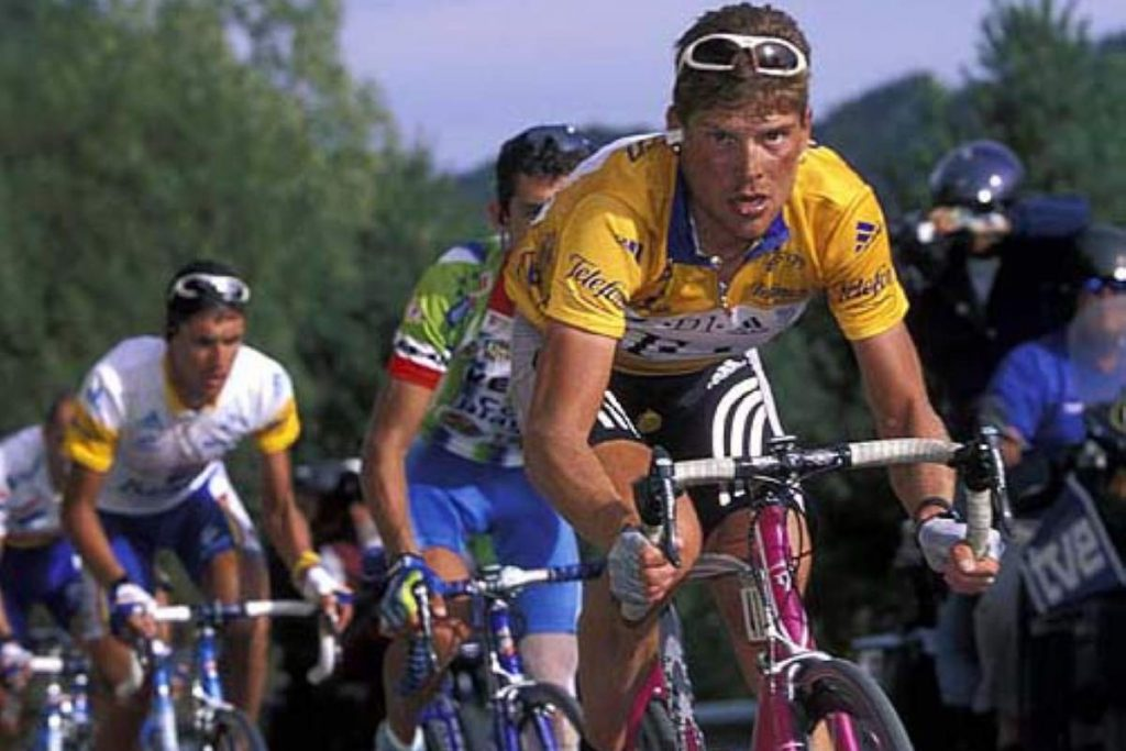 Jan Ullrich, winner of the 1997 Tour de France