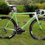 "Peter Sagan's Cannondale SuperSix Evo Tour de France 100th special edition ""The Hulk"""