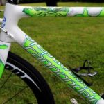 "Peter Sagan's Cannondale SuperSix Evo Tour de France 100th special edition ""The Hulk"", another view"