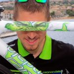 """Peter Sagan and his Cannondale SuperSix Evo Tour de France 100th special edition """"The Hulk"""""""