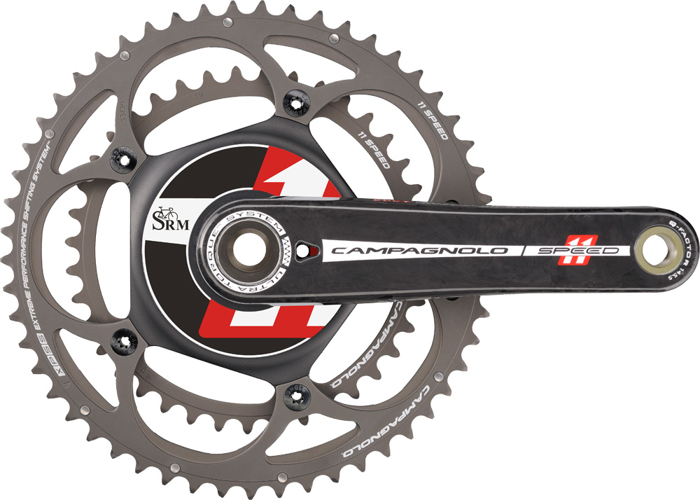 SRM Power Meter with Campagnolo crank