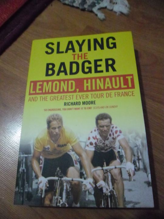 Cycling-related gift ideas: Slaying the Badger by Richard Moore