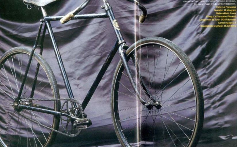 The first bike to win Tour de France