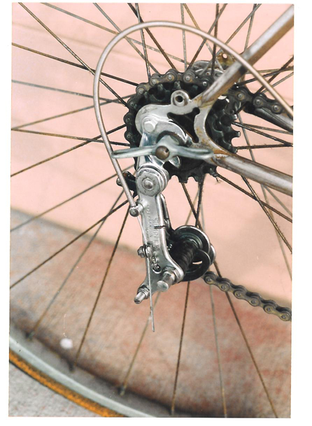 Top 10 cycling innovations: Simplex Champion rear derailleur (1934)
