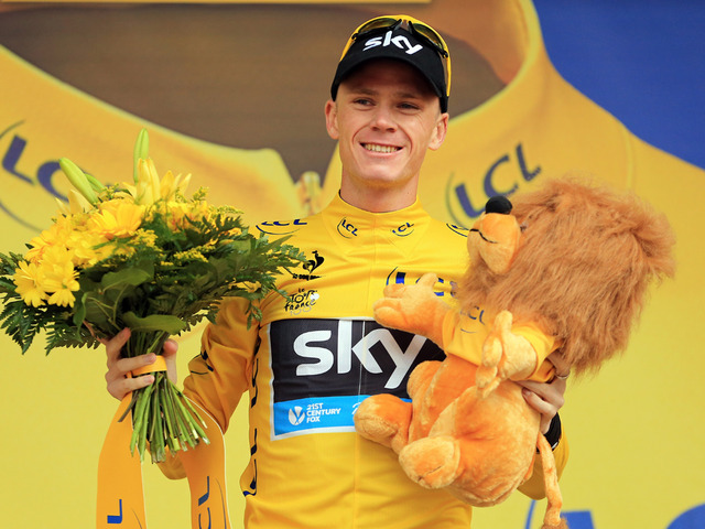 Chris Froome, Tour de France 2013 (100th edition) winner