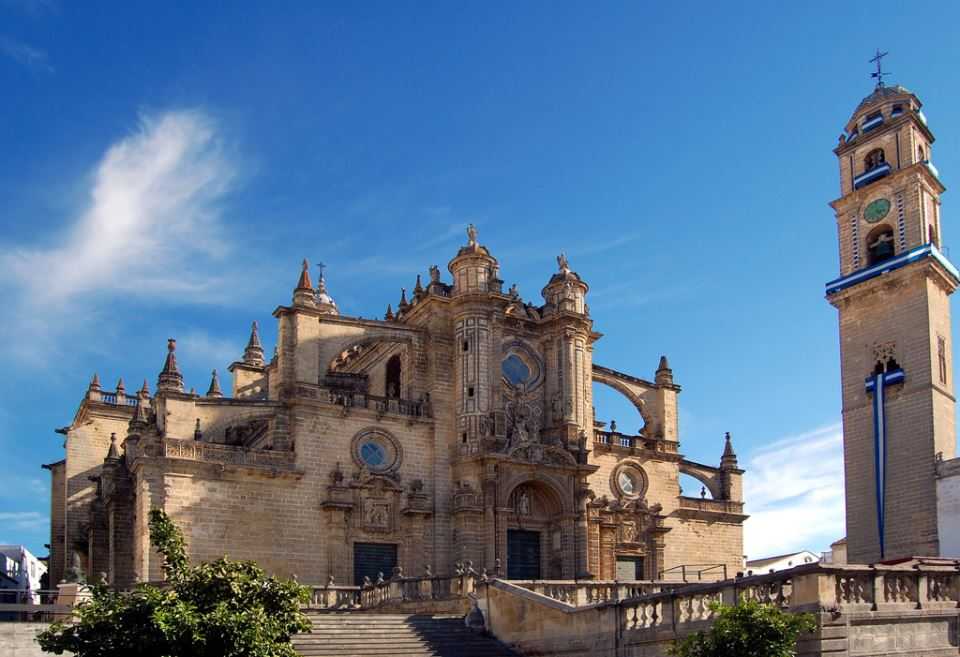 The cathedral of Jerez de la Frontera
