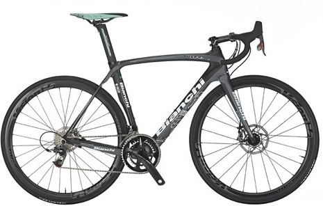 Bianchi 2014 Collection: Bianchi Oltre XR2 Disc 2014 SRAM RED