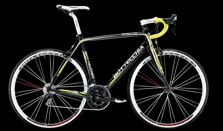 Bottecchia 2014 collection: Bottecchia Duello 2014 (black-yellow-white)