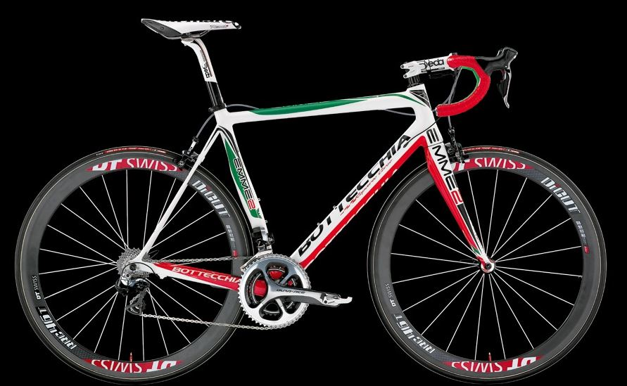 Bottecchia 2014 road bike series - Bottecchia Emme2 2014 (green-white-red)