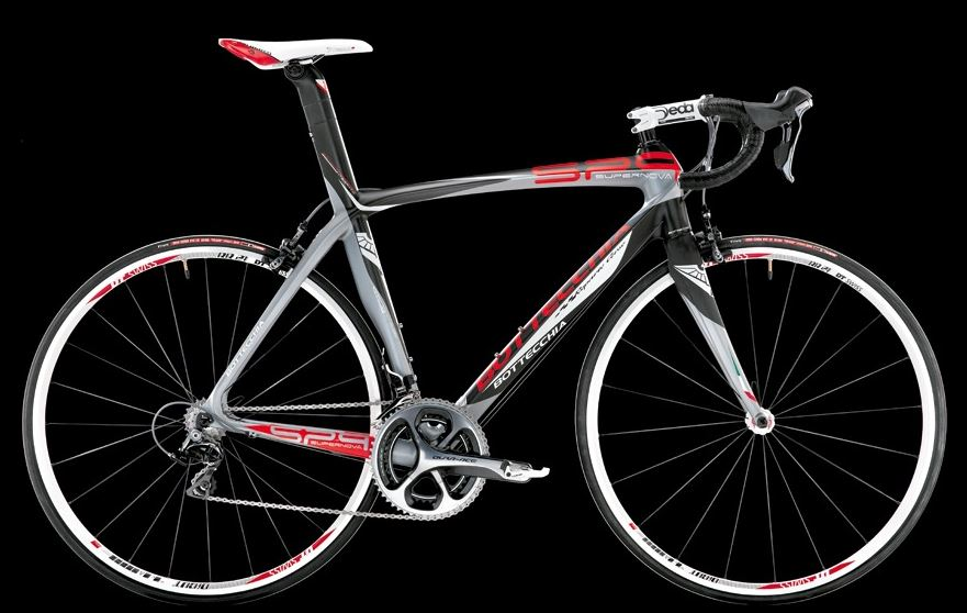 Bottecchia 2014 collection: Bottecchia SP9 Supernova 2014 (matt carbon-grey-red)