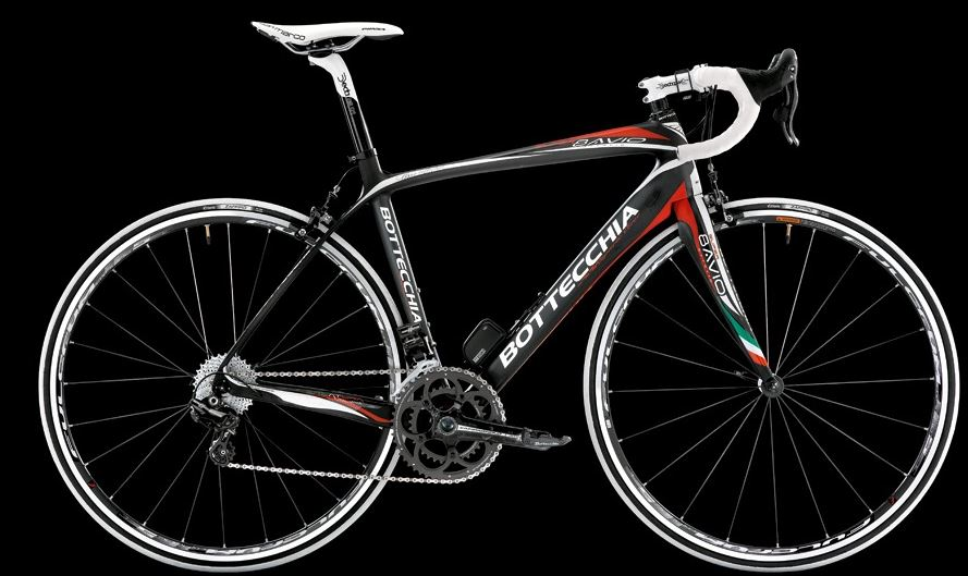 Bottecchia 2014 collection: Bottecchia Super 8Avio 2014 (matt carbon, red, white)