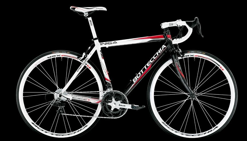 Bottecchia 2014 collection: Bottecchia Unica 2014 (white-red-black)
