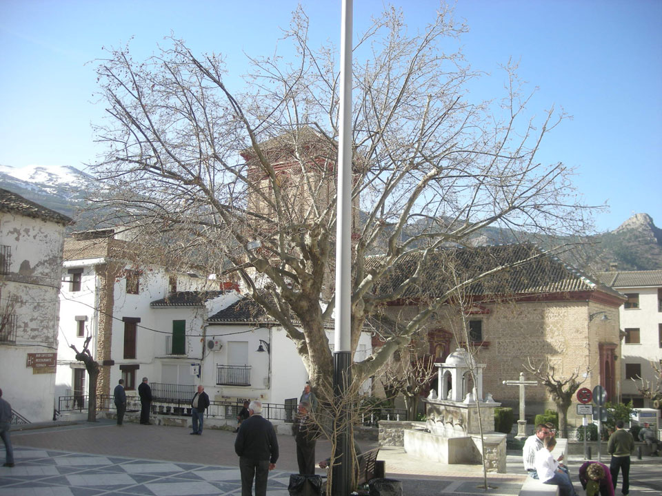 Güéjar Sierra, Plaza Mayor