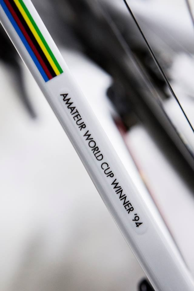 Jens Voigt's Trek Madone 7 2014, Amateur World Cup winner '94