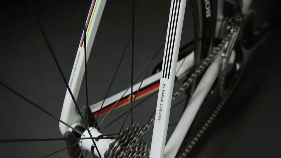 Jens Voigt's Trek Madone 7 2014, Peace Race winner '94