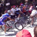 Mirador de Ézaro: even pro cyclists climb on foot