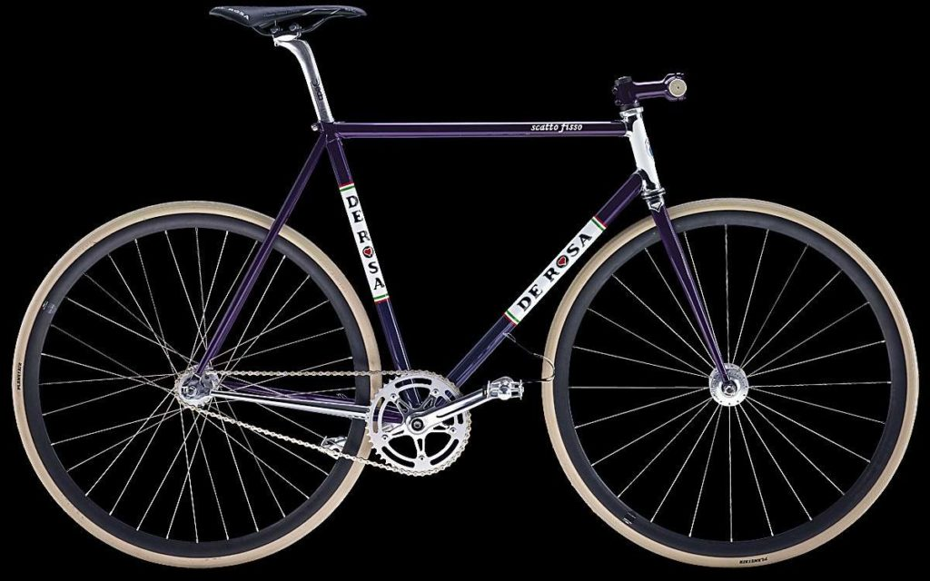 De Rosa Scattofisso 2014 Purple (Steel)