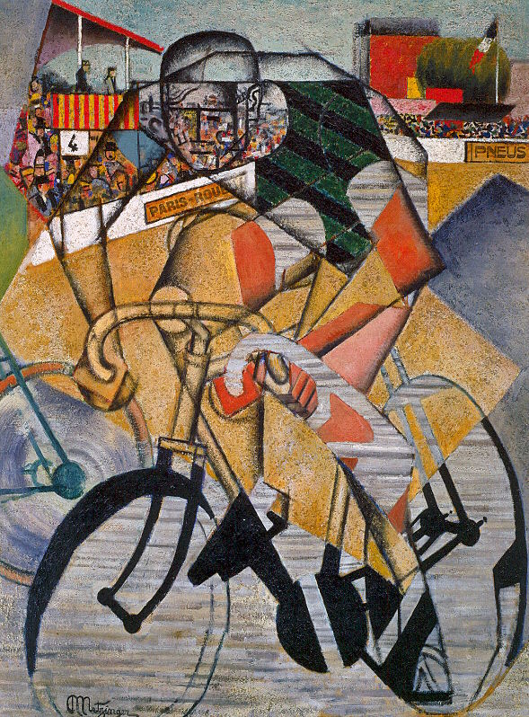 At the Cycle-Race Track (Au Vélodrome), Jean Metzinger, 1912