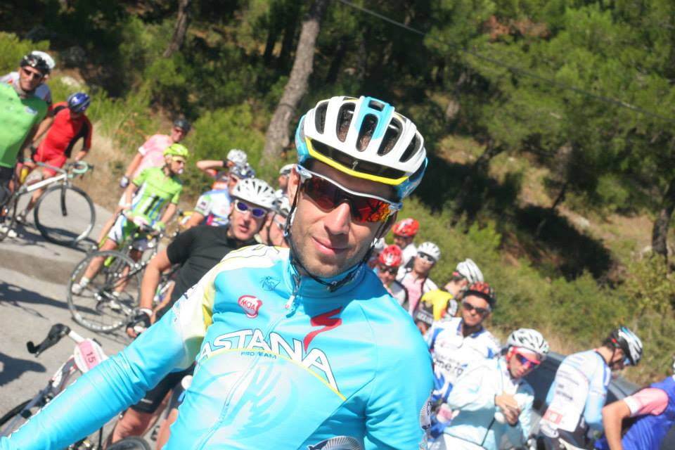 La Gazzetta dello Sport riding event, Vincenzo Nibali