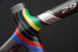 Parkpre 29 Future Rainbow Jersey, designed by Sak_art, details 4