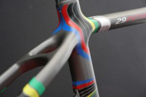 Parkpre 29 Future Rainbow Jersey, designed by Sak_art, details 5