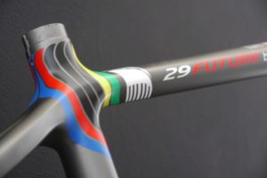 Parkpre 29 Future Rainbow Jersey, designed by Sak_art, details 8