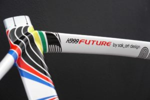 Parkpre K999 Future Rainbow Jersey, designed by Sak_art - details 5