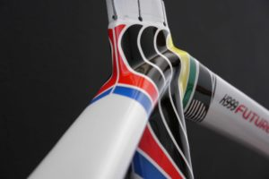 Parkpre K999 Future Rainbow Jersey, designed by Sak_art - details 6